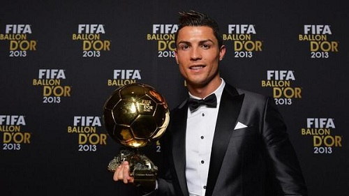 Cristiano Ronaldo named richest footballer in the world