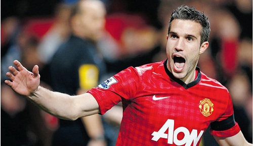 RVP says he is happy at Manchester United
