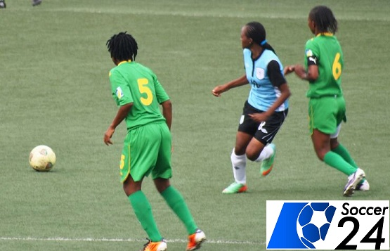 Mighty Warriors in action against Botswana