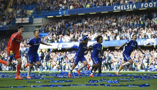 Chelsea crowned EPL Champions!