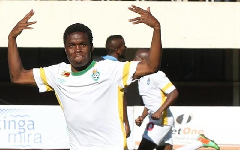 Golden Arrows sign Chicken Inn's Danny Phiri