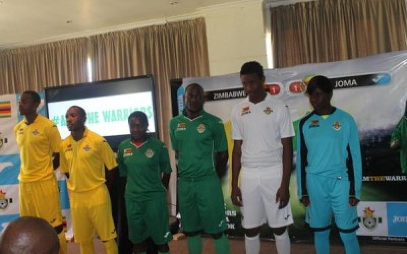 ZIFA and Joma Sport unveil kit deal
