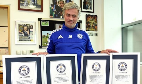 Mourinho, Ronaldo and Lampard added to Guinness Book of Records