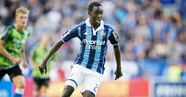 Tinotenda Kadewere on target in Sweden