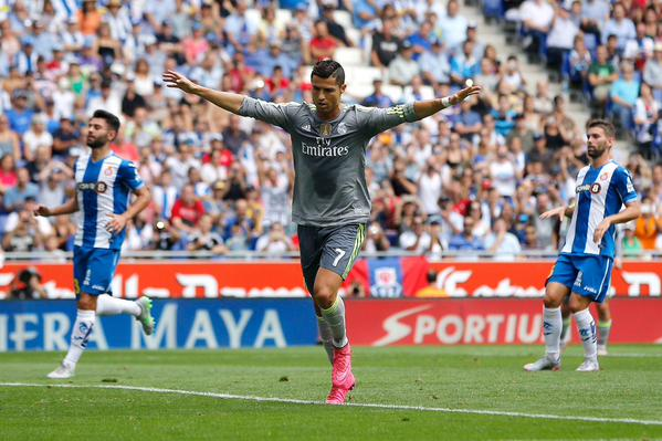 Cristiano Ronaldo struck FOUR as Real Madrid smash Celta