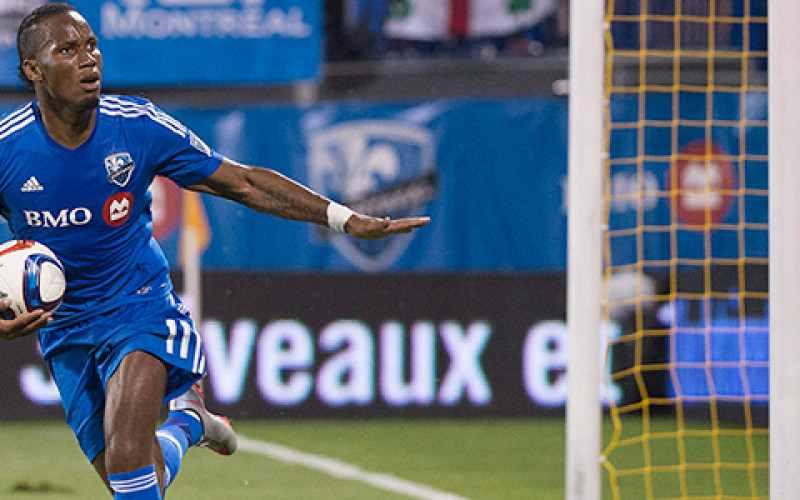 Drogba hat-trick on full debut!