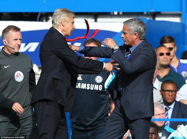 Mourinho: I get less respect than Arsene Wenger