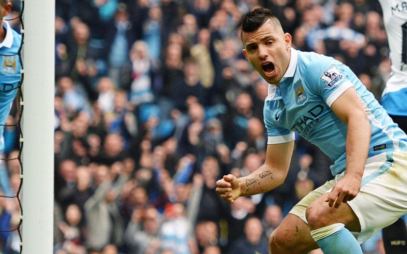 EPL: Sergio Aguero scores five goals in City win, Chelsea lose again