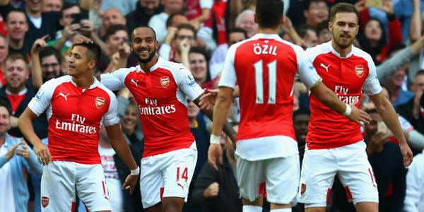 EPL: Sanchez nets double as Arsenal reclaim 3rd spot