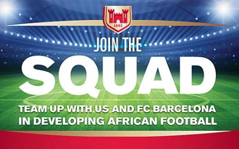 Castle Lager and FC Barcelona coaching clinic kick's off