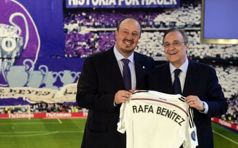 Reports: Real Madrid sack Rafa Benitez