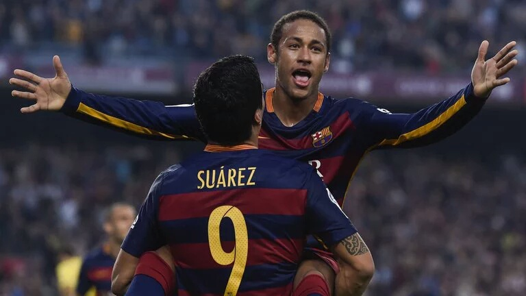 Suarez and Neymar strike again in narrow Barca win