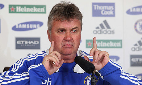 Chelsea appoint  Guus Hiddink