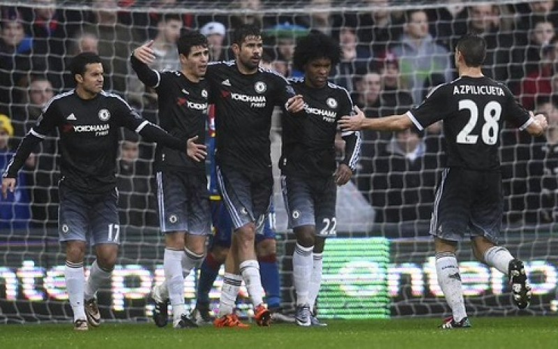 EPL : Chelsea beat Crystal Palace
