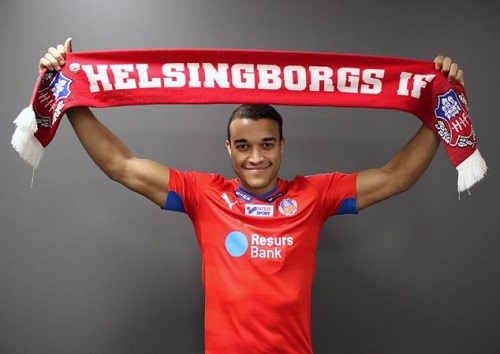 Matthew Rusike on target in Sweden