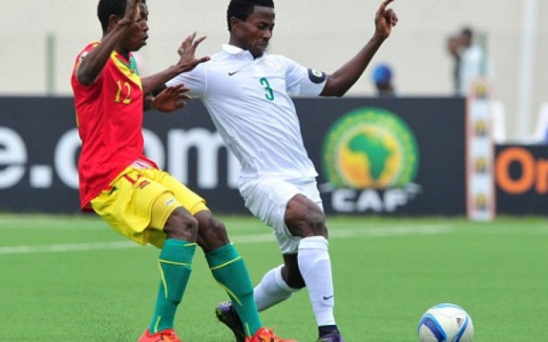 Nigeria crash out of CHAN 2016