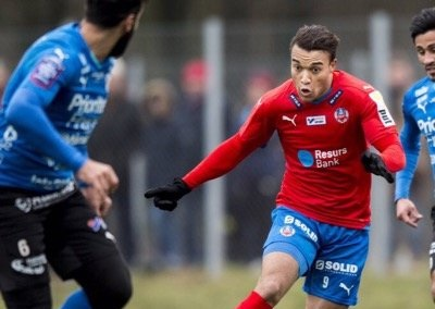 Matthew Rusike in scoring debut for Helsingborg
