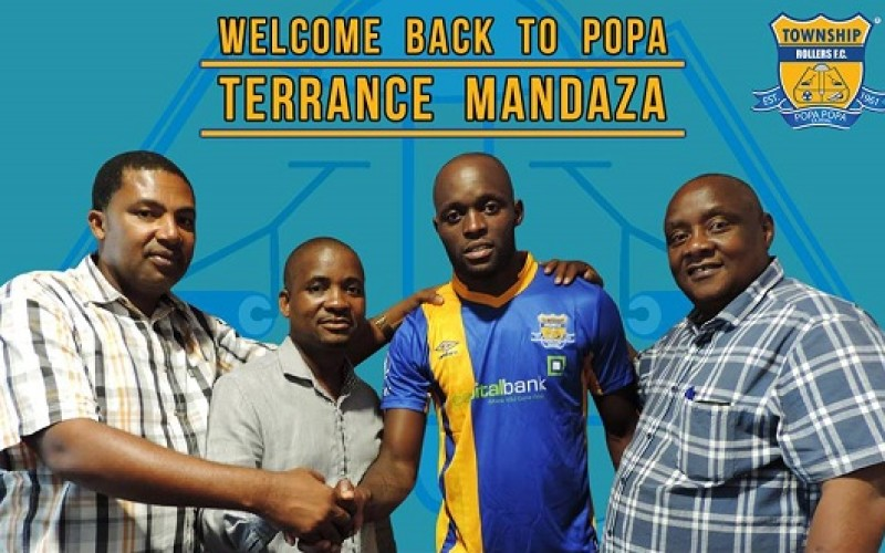 Mandaza returns to Township Rollers