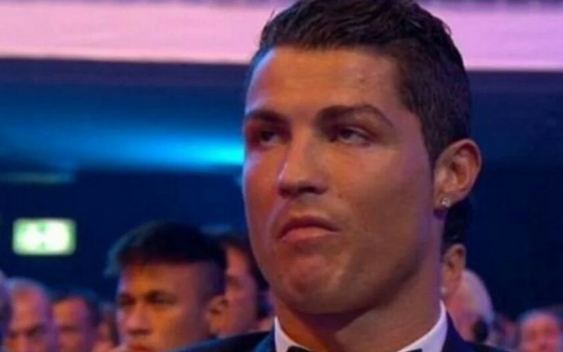 Video: Cristiano Ronaldo reaction as Messi wins Ballon Dor 2015