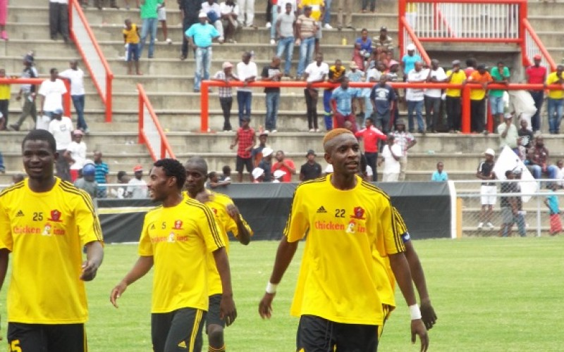 Golden Arrows take Chicken Inn trio for trials