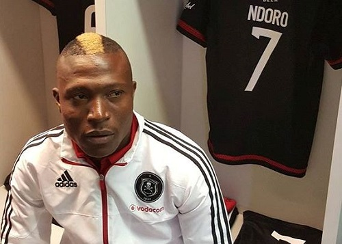 Tendai Ndoro happy with derby goals