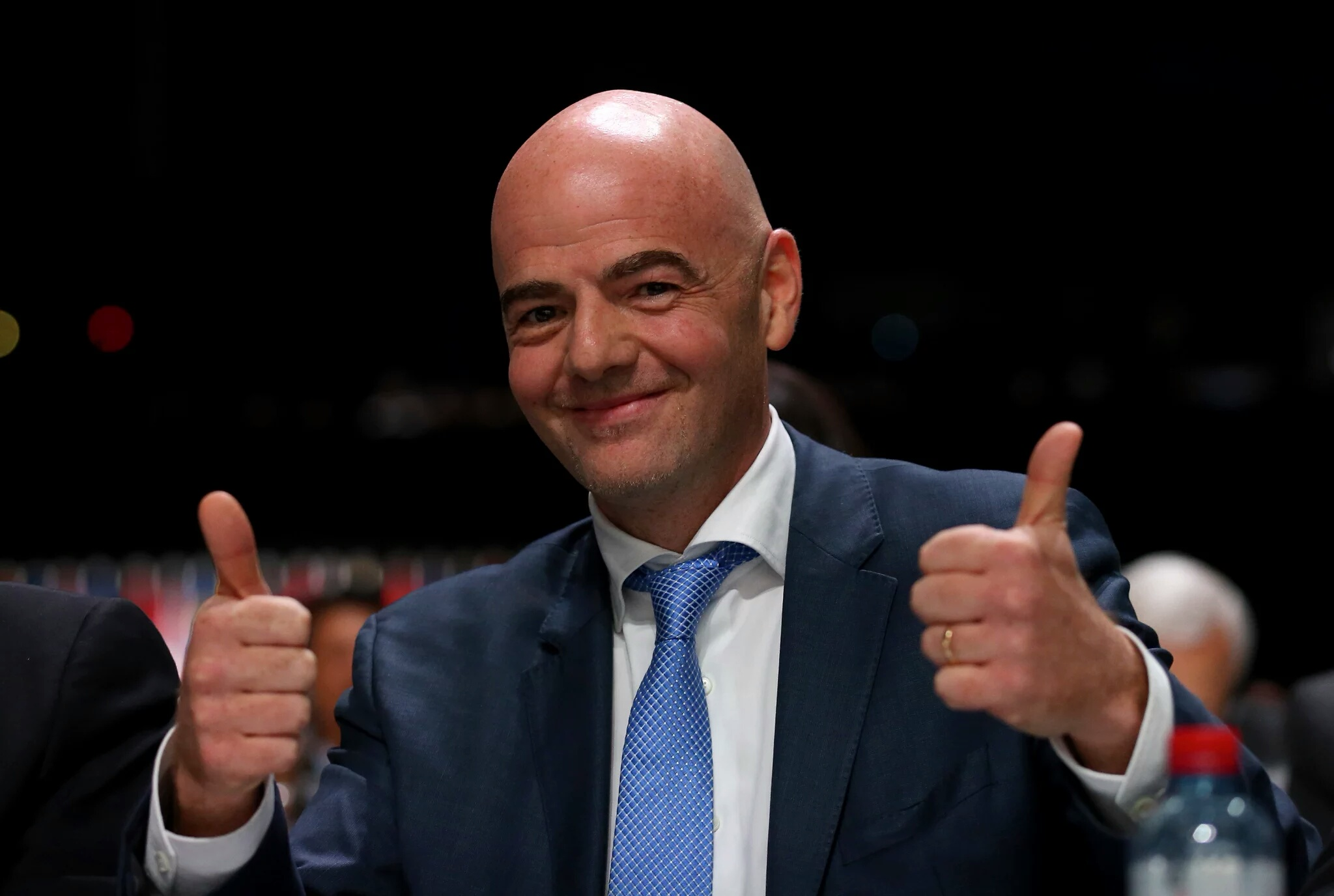 BREAKING: Gianni Infantino Is Announced As New FIFA President