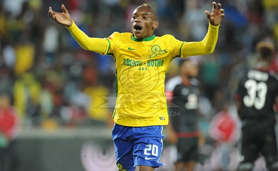 Billiat scores in Sundowns win