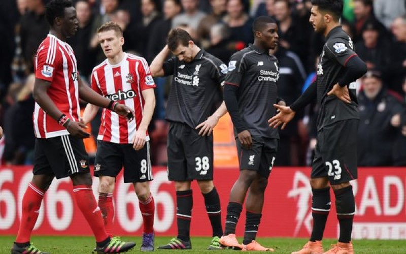 Southampton come from behind to stun Liverpool