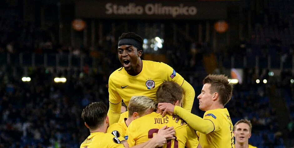 Nhamoinesu's Sparta Prague progress to Europa Cup League Last 8, Liverpool eliminate Man Utd