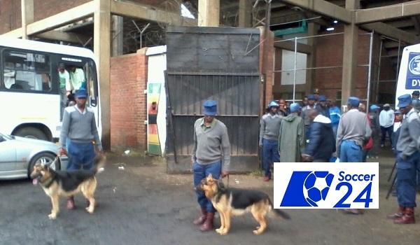 Police Restore order at Rufaro Stadium