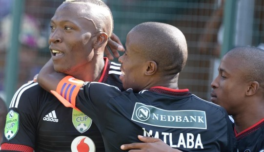 Ndoro strikes hat-trick in Pirates win