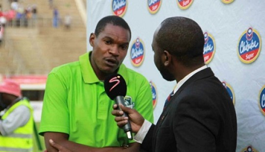 Norman Mapeza happy with a point against How Mine
