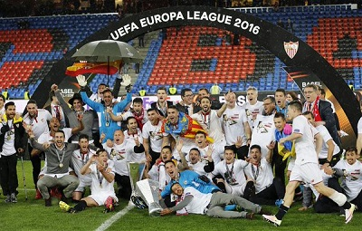 Sevilla beat Liverpool to win 3rd successive Europa League title