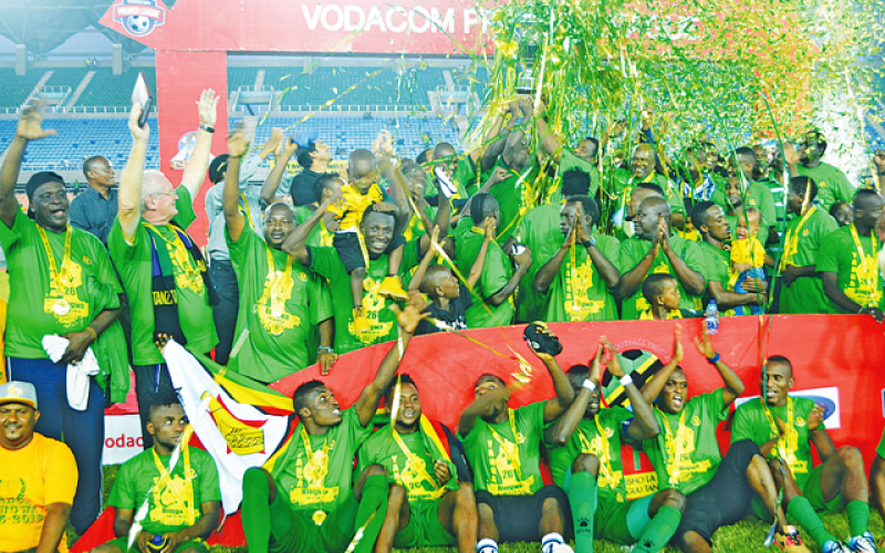 Ngoma and Kamusoko clinch silverware in Tanzania