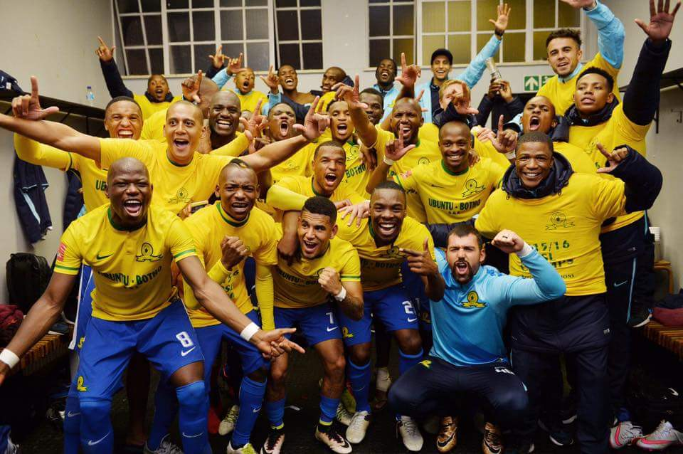 Mamelodi Sundowns clinch SA ABSA Premiership title