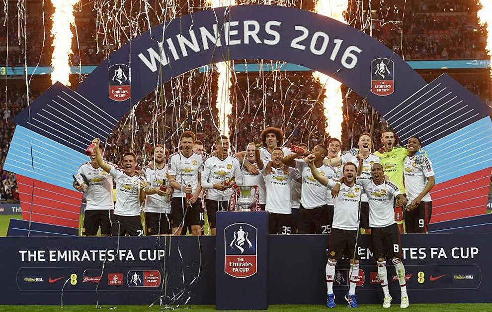 Manchester United win FA Cup final in extra-time