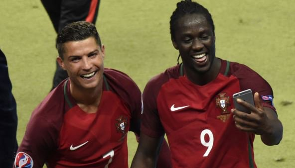 Cristiano Ronaldo predicted I'd score winner, reveals Portugal hero Eder