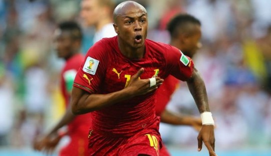 Ayew pays for teammates air fares