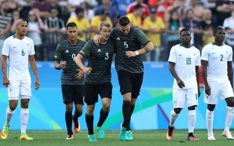Nigeria miss out on gold medal after losing to Germany