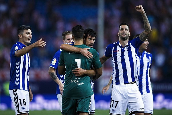 Barcelona stunned by Alaves