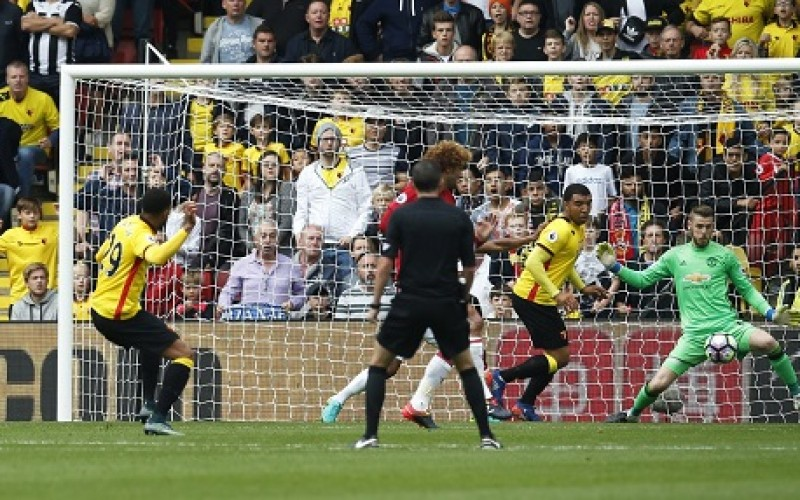 Watford pile more misery on Manchester United