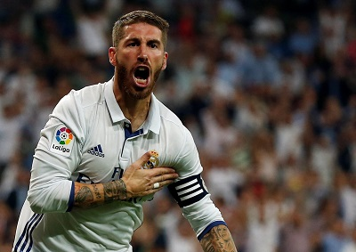 Injury blow for Real Madrid as defender Ramos is ruled out