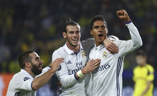 Real Madrid and Dortmund draw as Tottenham and Leicester win