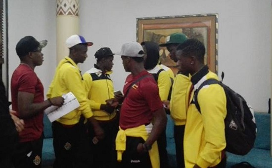 Video: Warriors singing ahead of Guinea clash