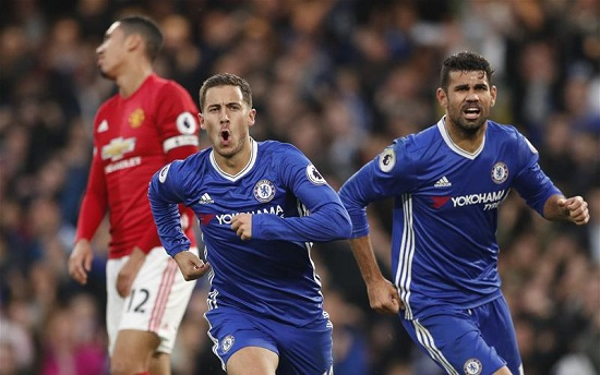Nightmare return for Mourinho as Chelsea hammer Manchester United
