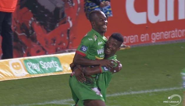 Video:Knowledge Musona scores in KV Oostende's big win
