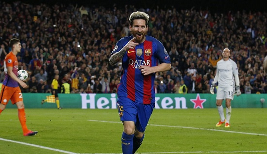 Messi hat-trick gives Guardiola unhappy return to Barcelona