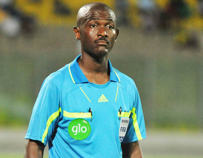 CAF suspends referee who handled SA v Senegal match