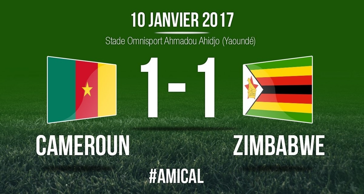 Video Highlights: Cameroon 1-1 Zimbawe