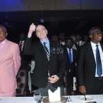 VIDEO: FIFA President Infantino Having A good Time At Chiyangwa's Party